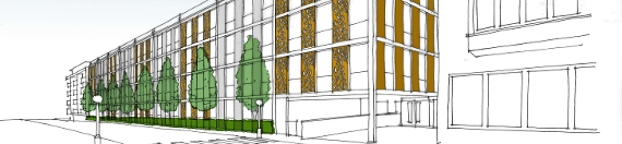 An image relating to Revised proposals for a multi-storey car park in Gerrards Cross